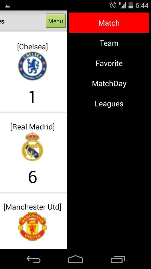 足球比分截图(2)