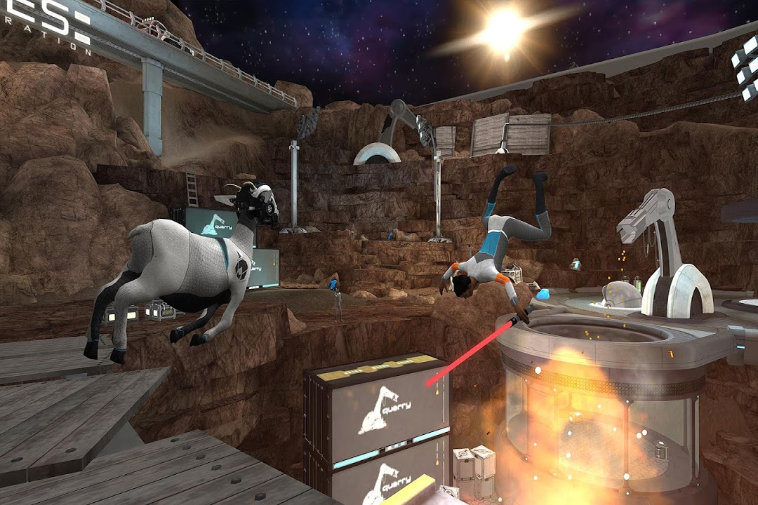 模拟山羊:太空废物截图(1)