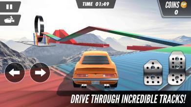 极限汽车特技3D游戏截图(1)