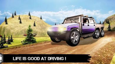 6 x 6 车驾驶 2017 3D截图(4)