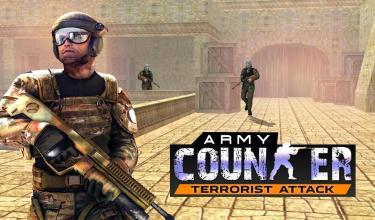 军队 计数器 恐怖分子 攻击 狙击兵截图(1)