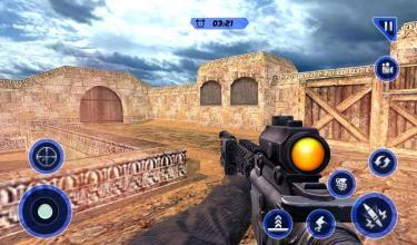 军队 计数器 恐怖分子 攻击 狙击兵截图(2)