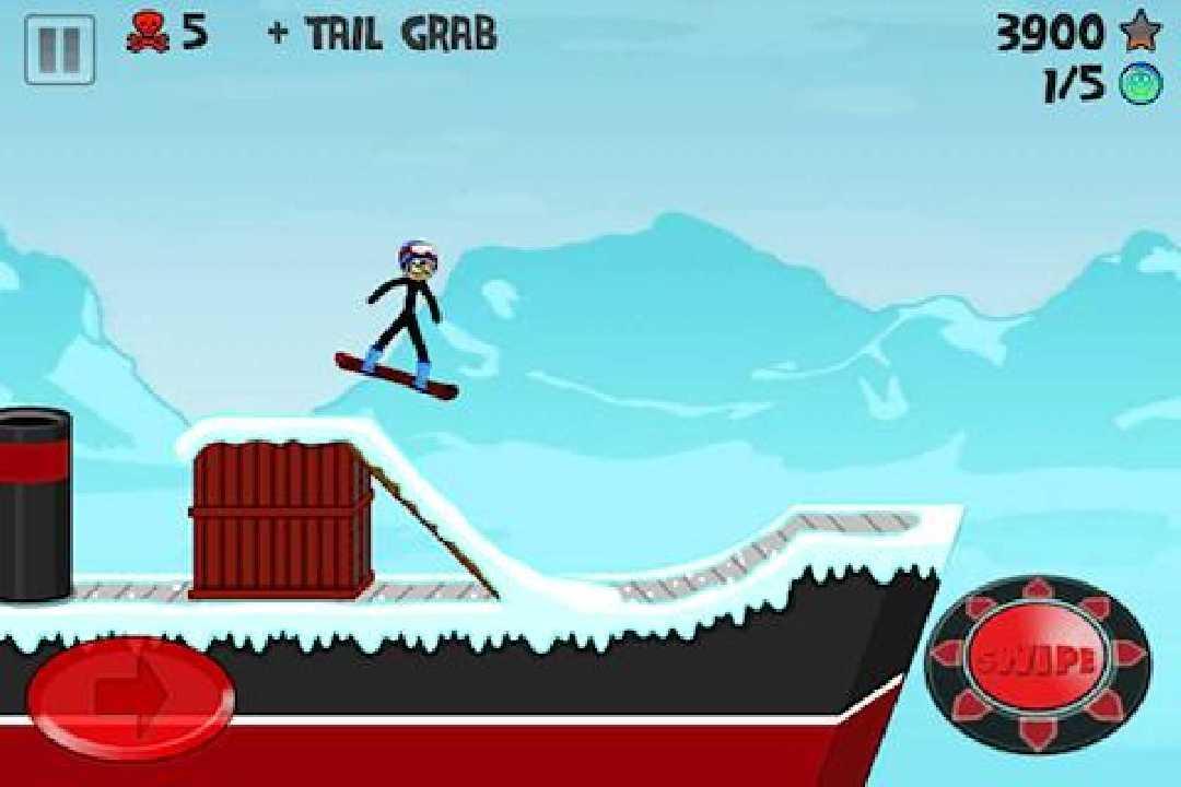 火柴人滑雪截图(4)