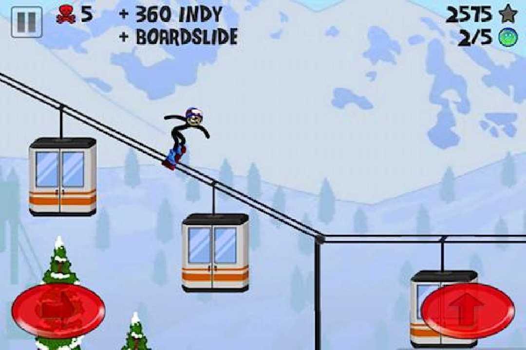 火柴人滑雪截图(2)