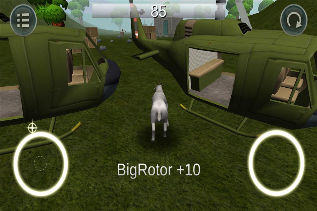 模拟山羊破坏世界截图(3)