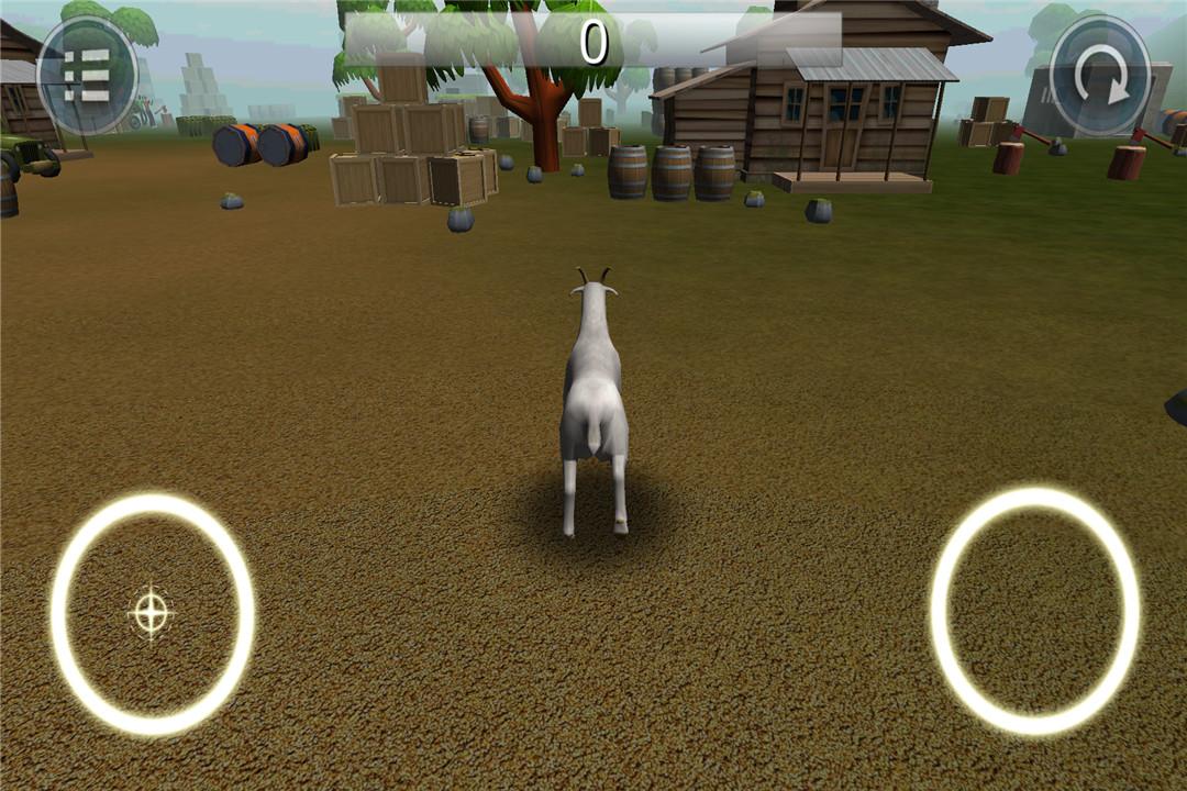 模拟山羊破坏世界截图(5)