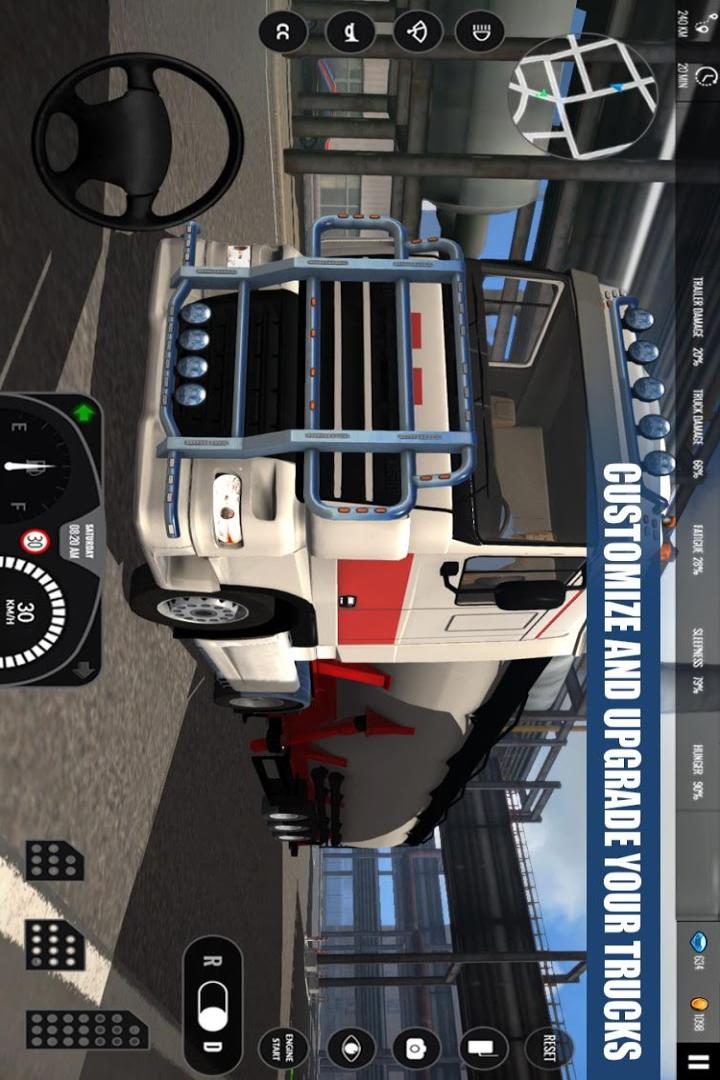 欧洲卡车模拟截图(1)