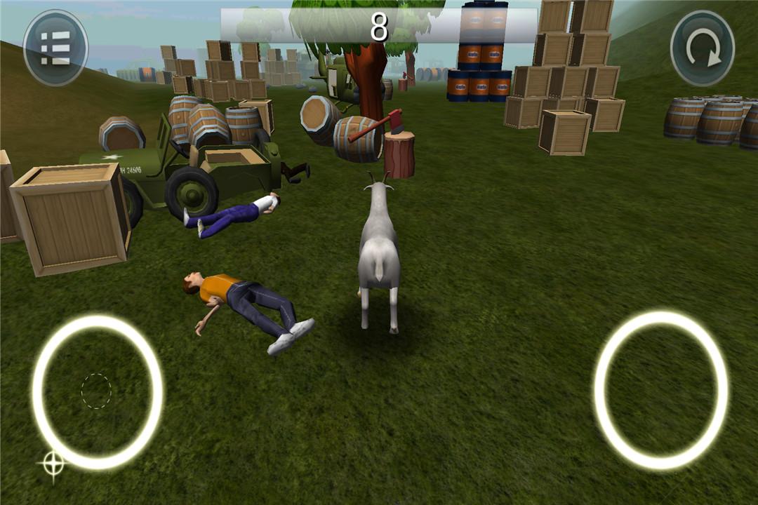 模拟山羊破坏世界截图(4)