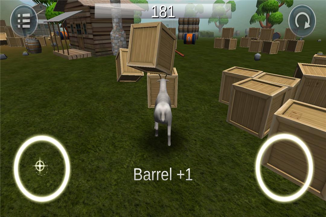 模拟山羊破坏世界截图(1)