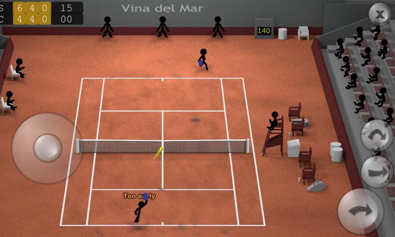 火柴人网球截图(1)