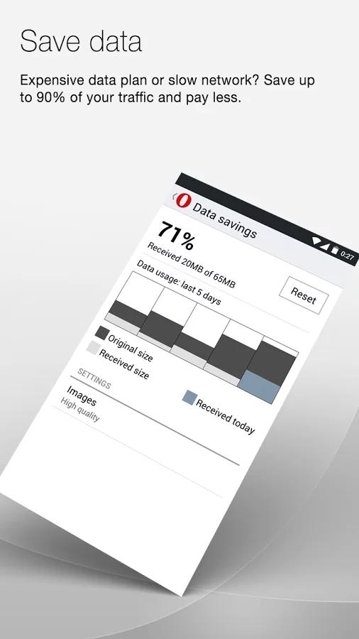 Opera Mini beta 浏览器截图(5)