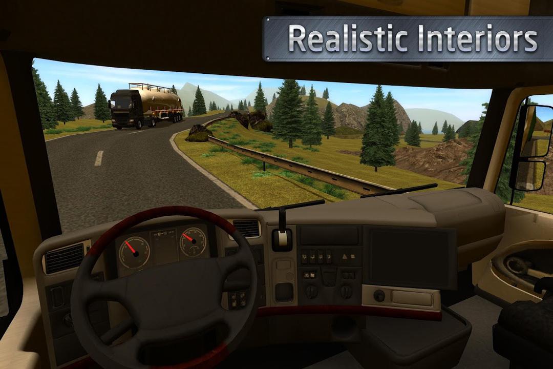 欧洲卡车司机-手游版截图(4)