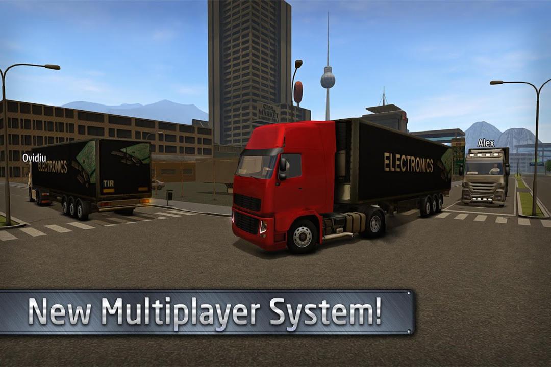 欧洲卡车司机-手游版截图(3)