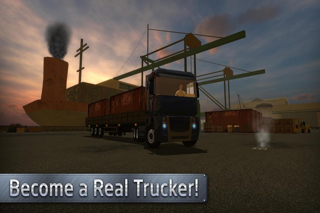 欧洲卡车司机-手游版截图(1)