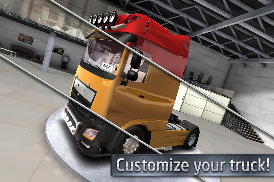 欧洲卡车司机-手游版截图(2)