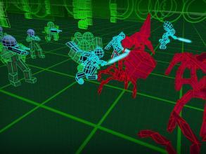 Stickman Neon Warriors: Spiders Battle截图(3)