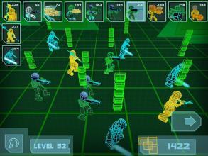 Stickman Neon Warriors: Spiders Battle截图(1)