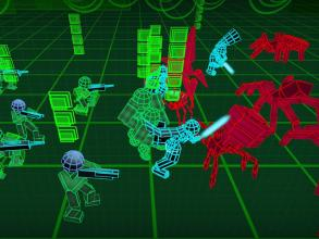 Stickman Neon Warriors: Spiders Battle截图(4)
