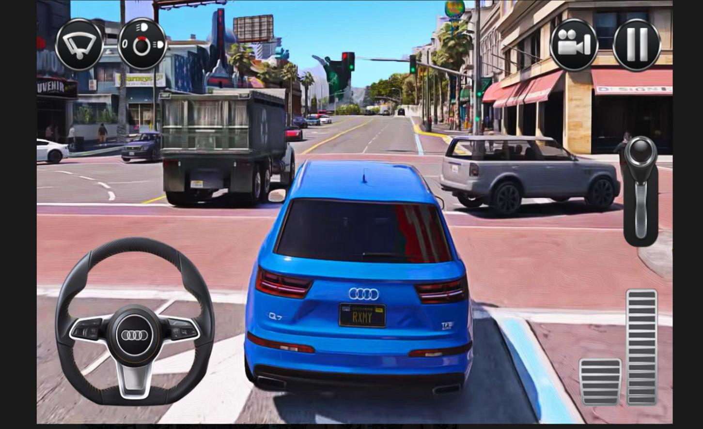 城市汽车驾驶模拟器截图(2)