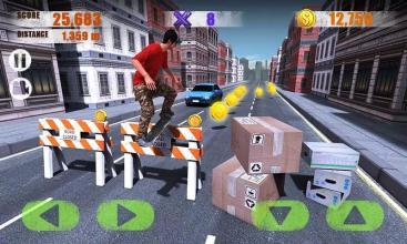 街头滑板3D截图(2)
