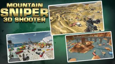 Mountain Sniper 3D Shooter截图(1)