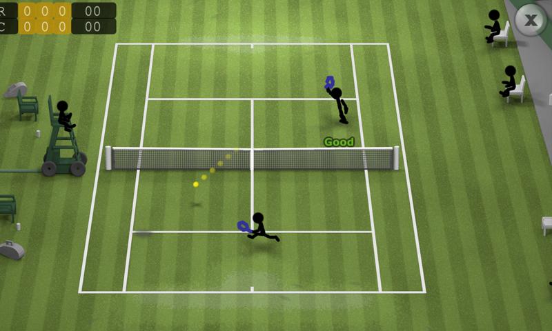 火柴人网球截图(2)