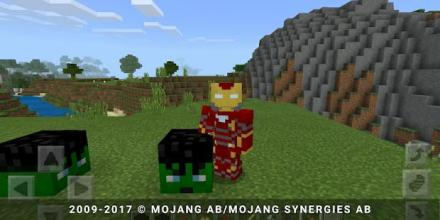 New Аvenger add-on for MCPE截图(1)