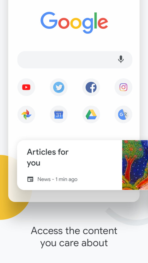 谷歌浏览器Google Chrome截图(1)