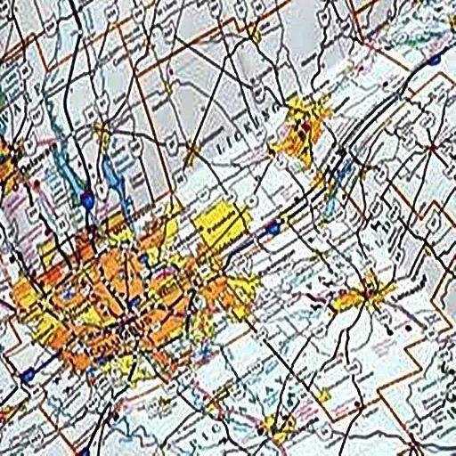GPS 卫星地图导航截图(1)