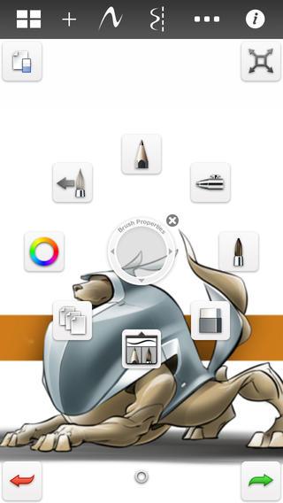 妙笔生花 SketchBook for Galaxy截图(3)