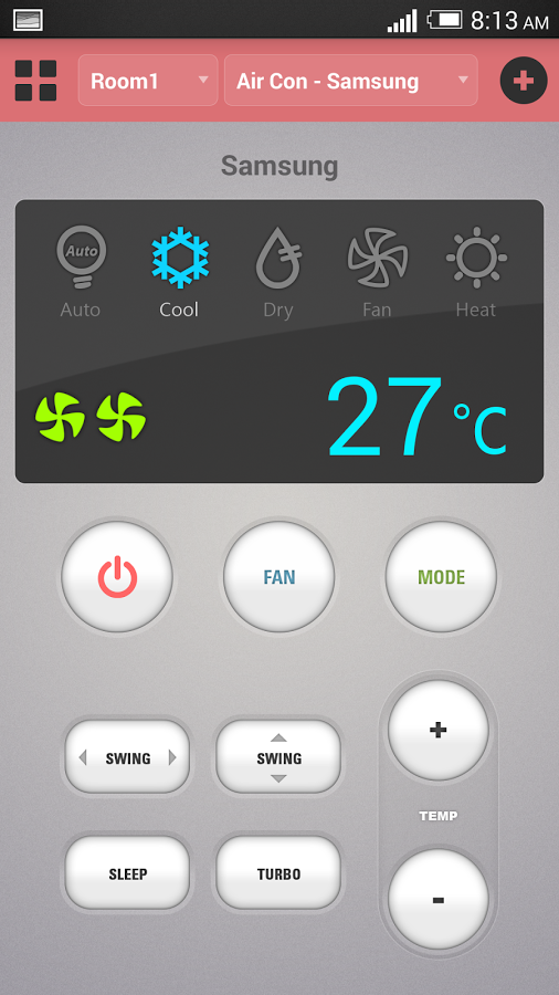 空调遥控器截图(2)