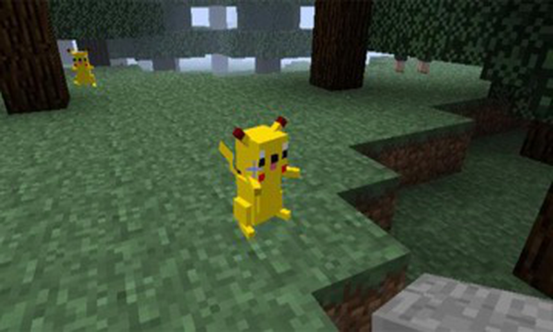 Catch Pixelmon Craft截图(2)