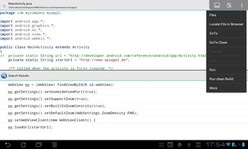 AIDE集成开发环境截图(3)