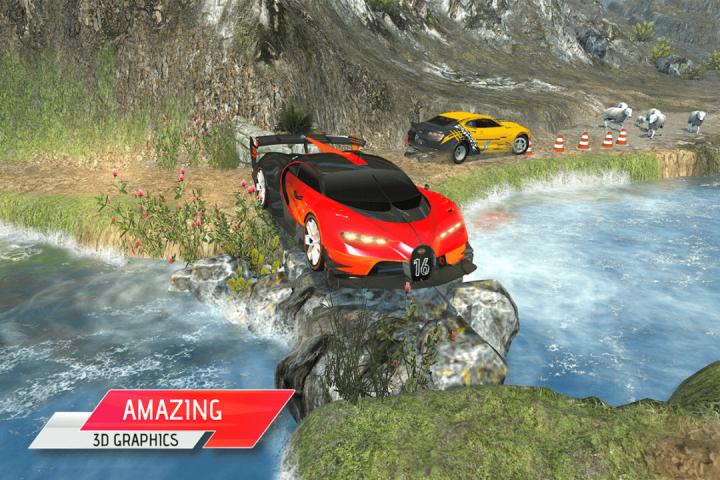 越野汽车驾驶模拟器3D:爬坡赛车截图(4)