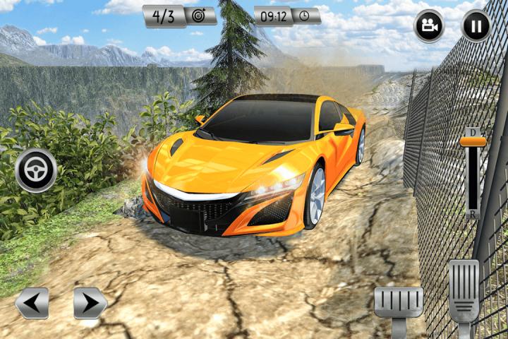 越野汽车驾驶模拟器3D:爬坡赛车截图(2)