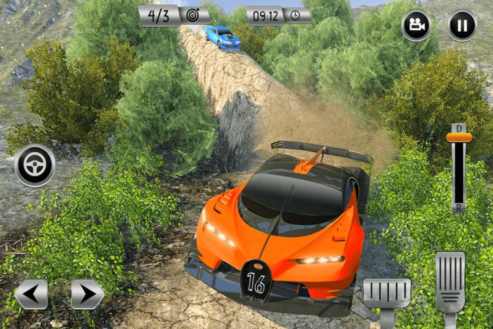 越野汽车驾驶模拟器3D:爬坡赛车截图(3)