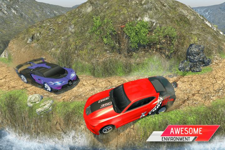 越野汽车驾驶模拟器3D:爬坡赛车截图(5)