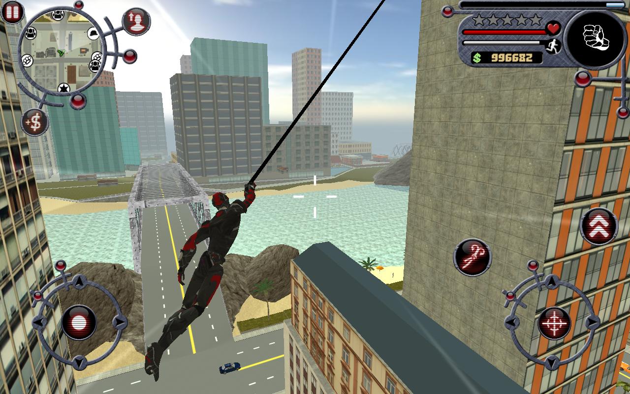 Rope Hero截图(2)