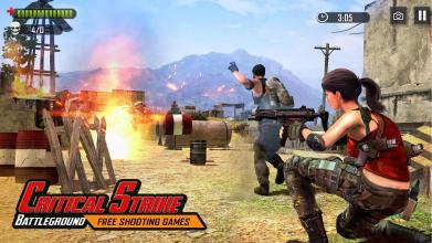 Battleground Fire   Shooting Games 2019截图(1)