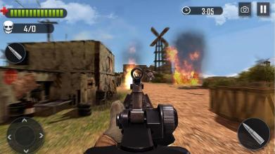 Battleground Fire   Shooting Games 2019截图(5)