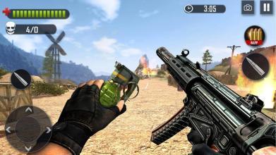 Battleground Fire   Shooting Games 2019截图(4)