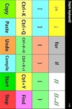 开发者键盘截图