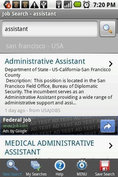 劳工处互动就业服务 Jobs@Gov截图