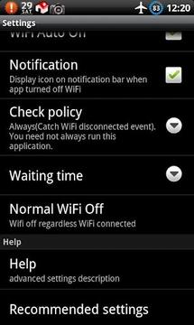 WiFi自动开关截图