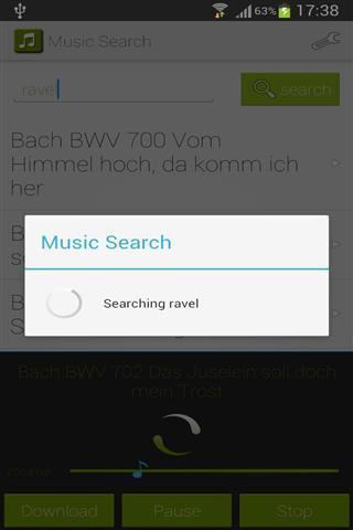 音乐搜索截图(2)