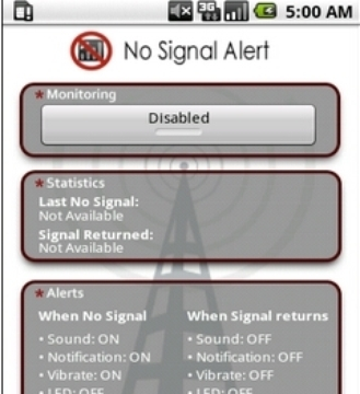 信号变化报警器No Signal Alert截图
