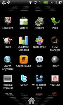 2.3姜饼桌面 Android 2.3 Launcher (Home)截图