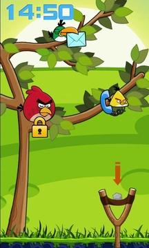 愤怒小鸟锁屏截图