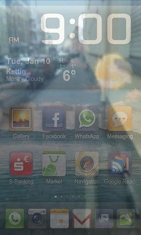 透明屏幕截图