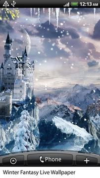梦幻冬天动态壁纸 Winter Fantasy Live Wallpaper截图